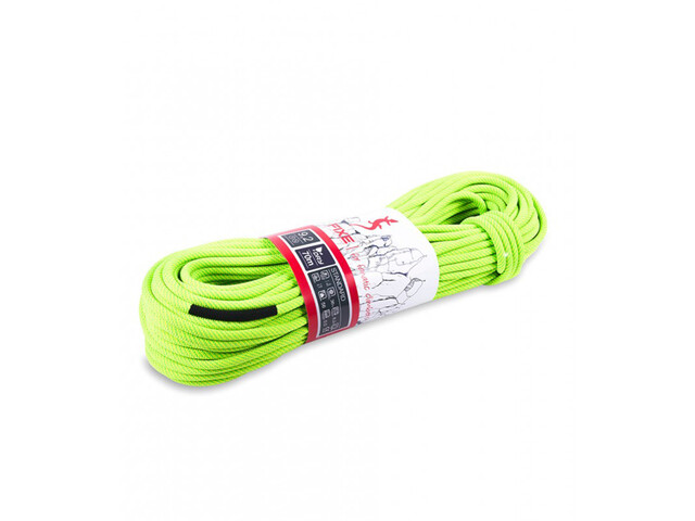 Fixe Standard Dry Rope 9,2mm x 80m, neon yellow/neon green